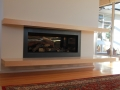 Built In Fireplace & Shelves 2
